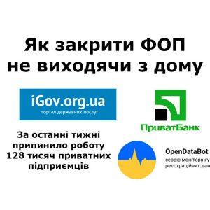 Припинення діяльності ФОП — подати заяву онлайн